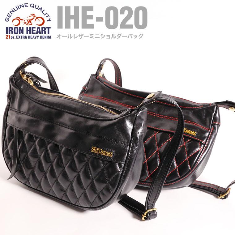 【 IHE-020 】オールレザーミニショルダーバッグ