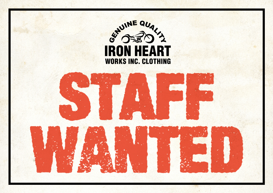 IRON HEART STAFF WANTED
